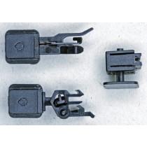 Artnr.: 004   Normschachthalter mit Feder; Höhenverstellbar