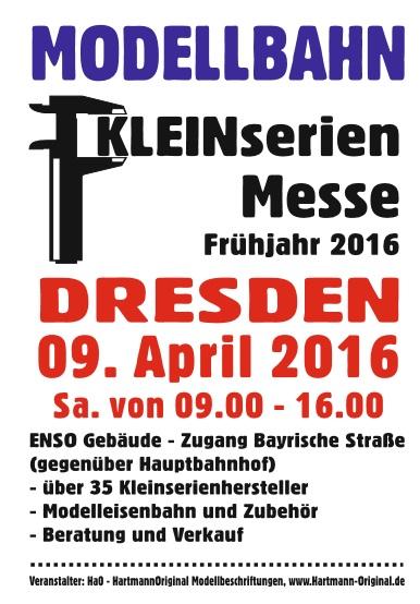 Modellbahn Dresden 2016